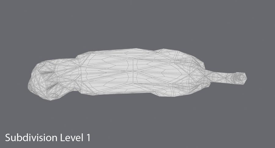 Chodzący Kot royalty-free 3d model - Preview no. 16