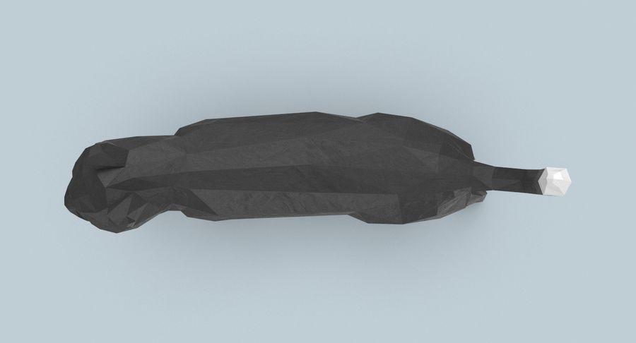 Chodzący Kot royalty-free 3d model - Preview no. 5