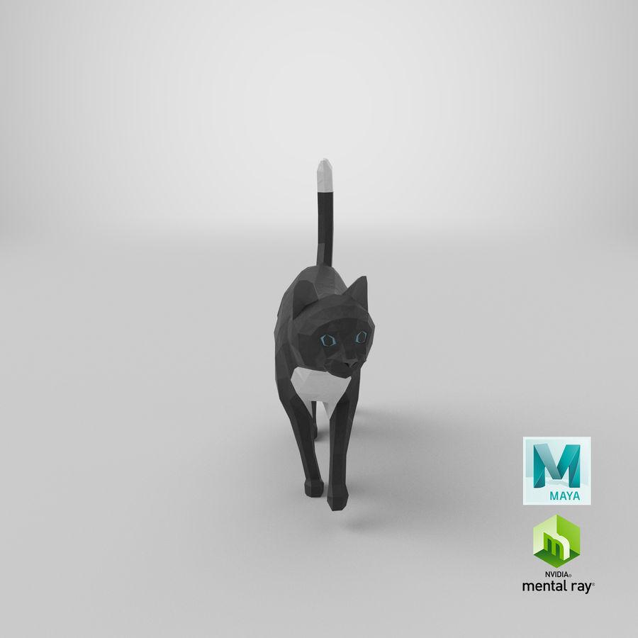 Chodzący Kot royalty-free 3d model - Preview no. 20