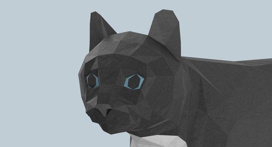 Chodzący Kot royalty-free 3d model - Preview no. 9
