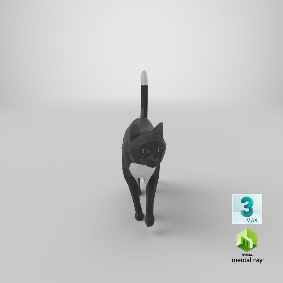 Chodzący Kot royalty-free 3d model - Preview no. 22