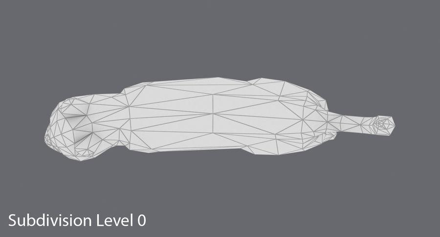 Chodzący Kot royalty-free 3d model - Preview no. 13