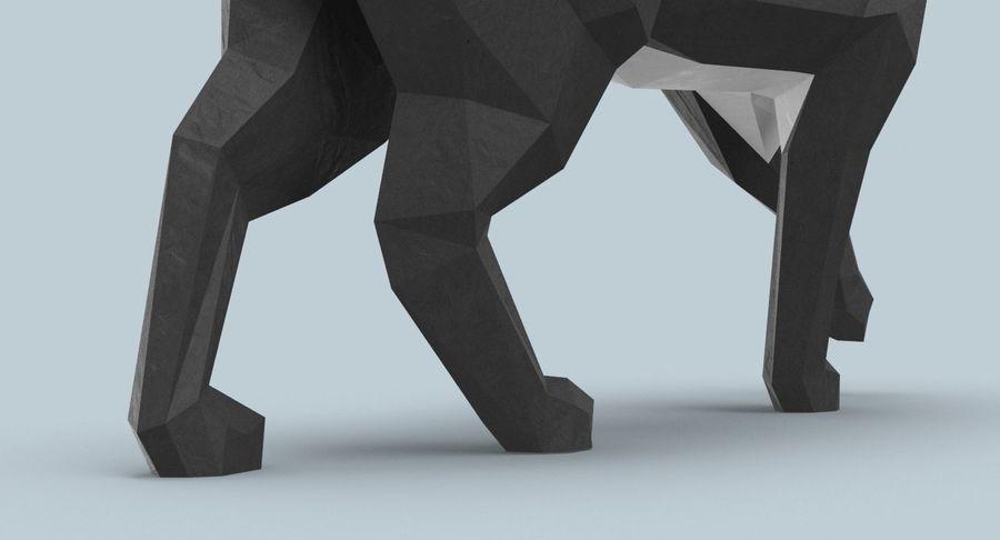 Chodzący Kot royalty-free 3d model - Preview no. 10