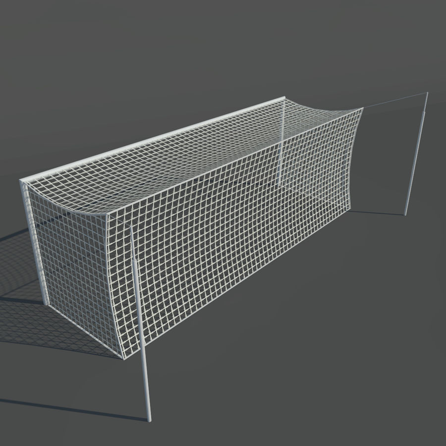 Soccer Pitch 2 royalty-free 3d model - Preview no. 15