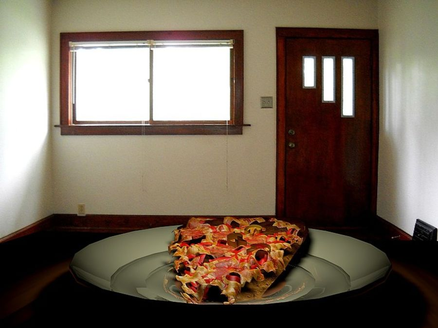pizza royalty-free 3d model - Preview no. 4