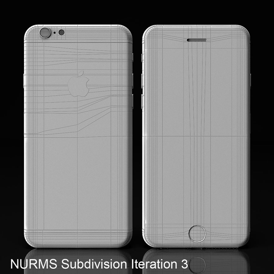 iPhone 6 royalty-free 3d model - Preview no. 9