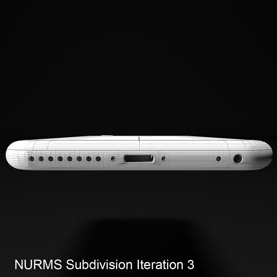 iPhone 6 royalty-free 3d model - Preview no. 11