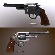 Revolver_S&W 3d model