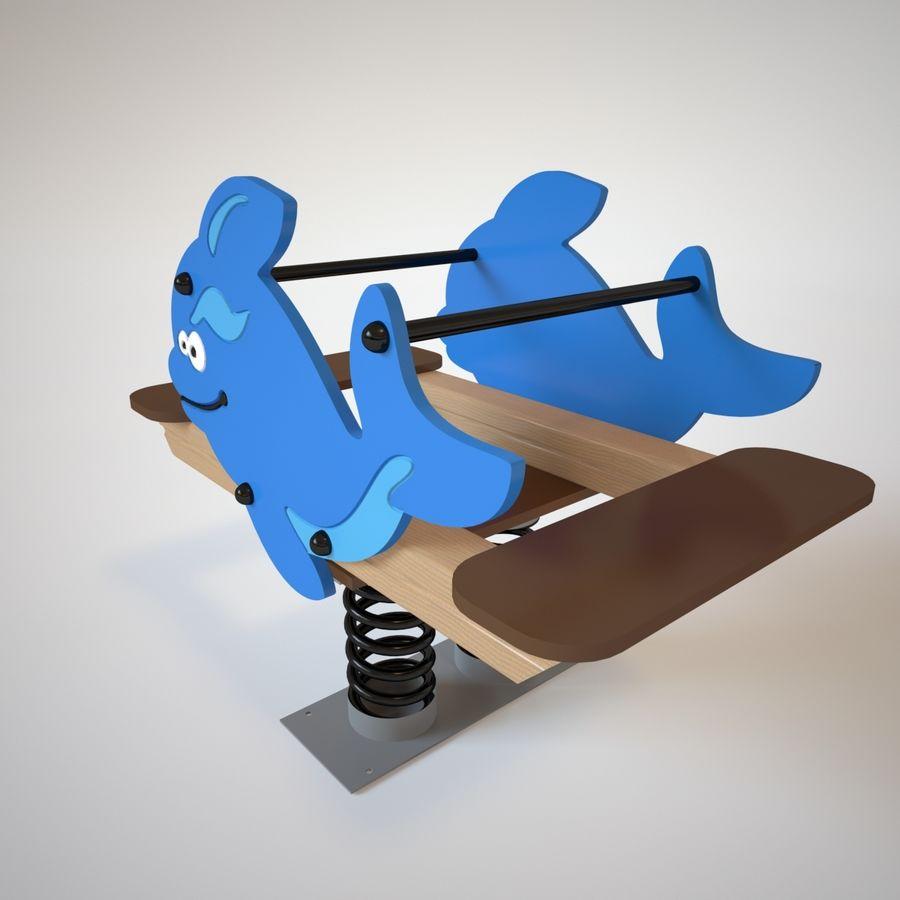Parque infantil - Orca royalty-free 3d model - Preview no. 4