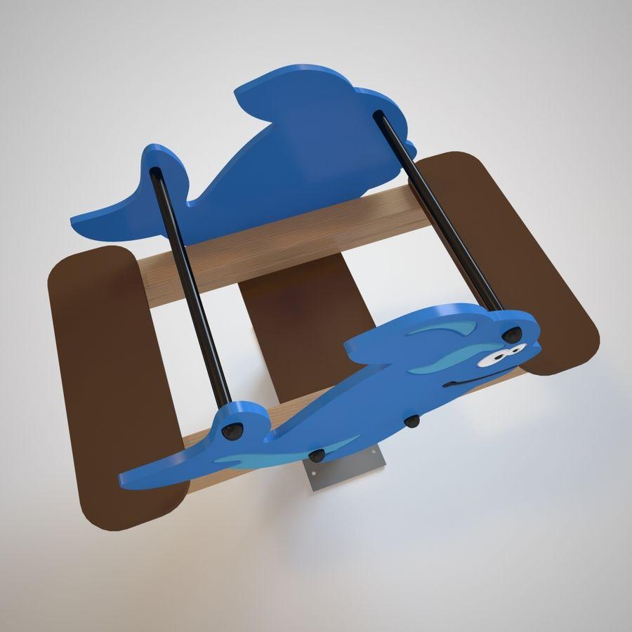 Parque infantil - Orca royalty-free 3d model - Preview no. 6