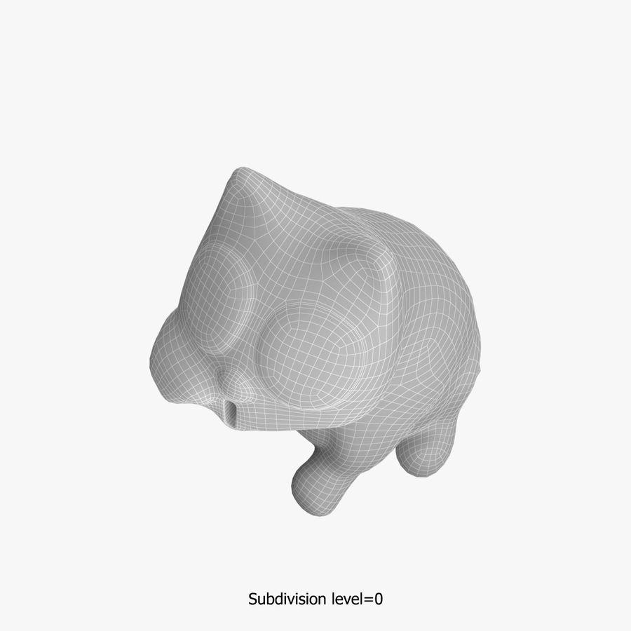 Skarbonka royalty-free 3d model - Preview no. 16