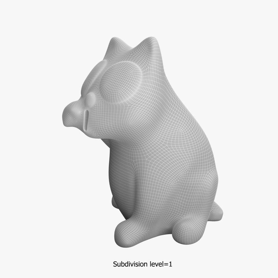 Skarbonka royalty-free 3d model - Preview no. 12