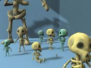 Skeleton Friend 3d model