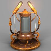 蒸汽朋克Lamp03 3d model