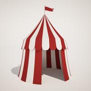 Kleines Zirkuszelt 3d model