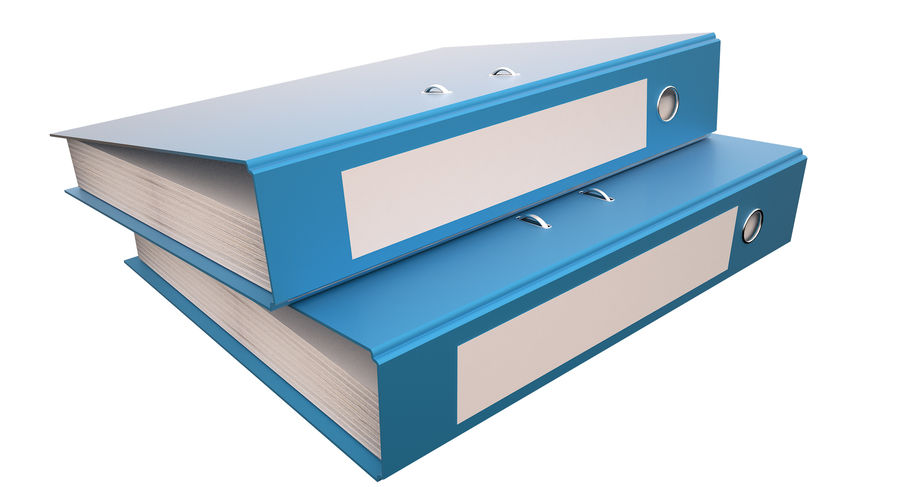 File Holder royalty-free 3d model - Preview no. 8