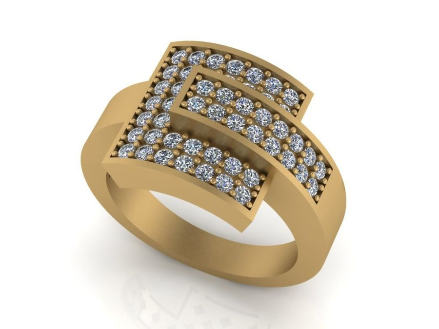 Jewelry ring royalty-free 3d model - Preview no. 1