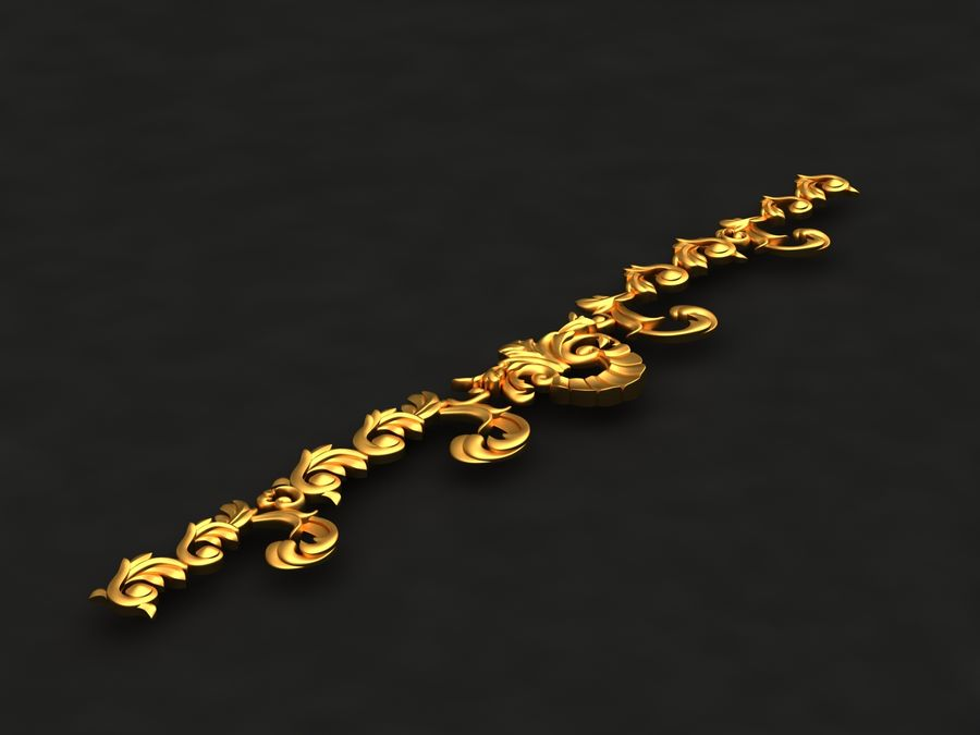 Decoration royalty-free 3d model - Preview no. 4