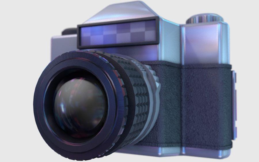 macchina fotografica retrò royalty-free 3d model - Preview no. 6