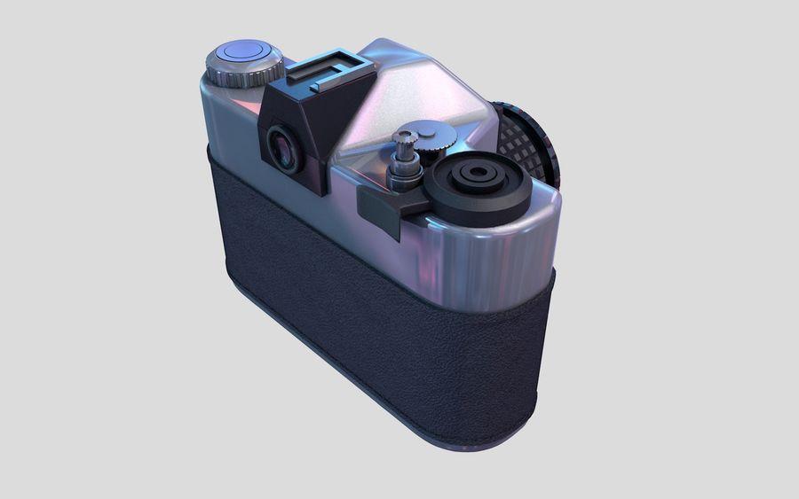 macchina fotografica retrò royalty-free 3d model - Preview no. 2