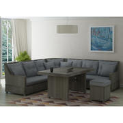 Möbel aus Rattan 3d model