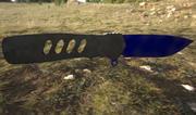 Violet Flip Knife 3d model
