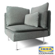 IKEA-コーナーソファ 3d model