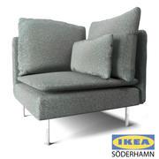 Sofa narożna IKEA 3d model