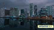 Anzio city future 3d model