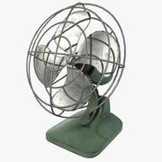 老式风扇 3d model