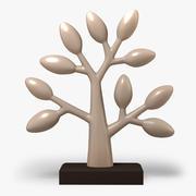 Árvore de argila 3d model