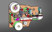 Ayrı modül laminasyon makinesi 3d model