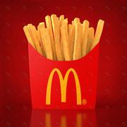 Fries 3d model