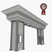 Bekçi evi 3d model