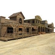 Western City 3d model