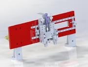 silindir sıkma mekanizması 3d model