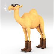 Camel Cartoon 3d model