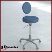 实验椅 3d model