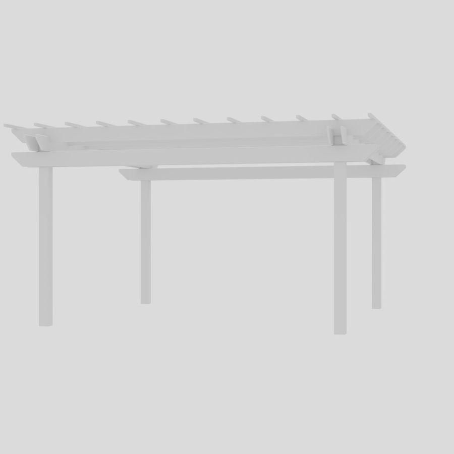 Pergola royalty-free 3d model - Preview no. 9