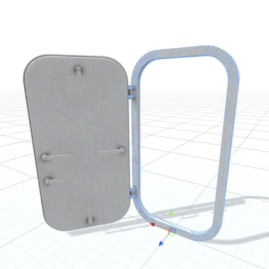 D门 royalty-free 3d model - Preview no. 5