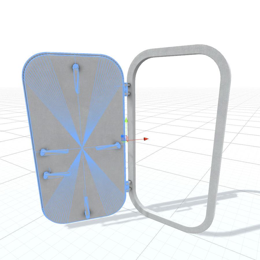D门 royalty-free 3d model - Preview no. 6