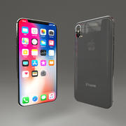 Iphone X modelo 3d