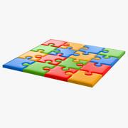 パズル 3d model