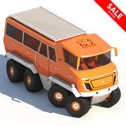 Samochód ciężarowy 3d model