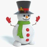 Bonhomme de neige 3 3d model