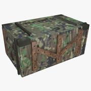 Caja del ejército modelo 3d