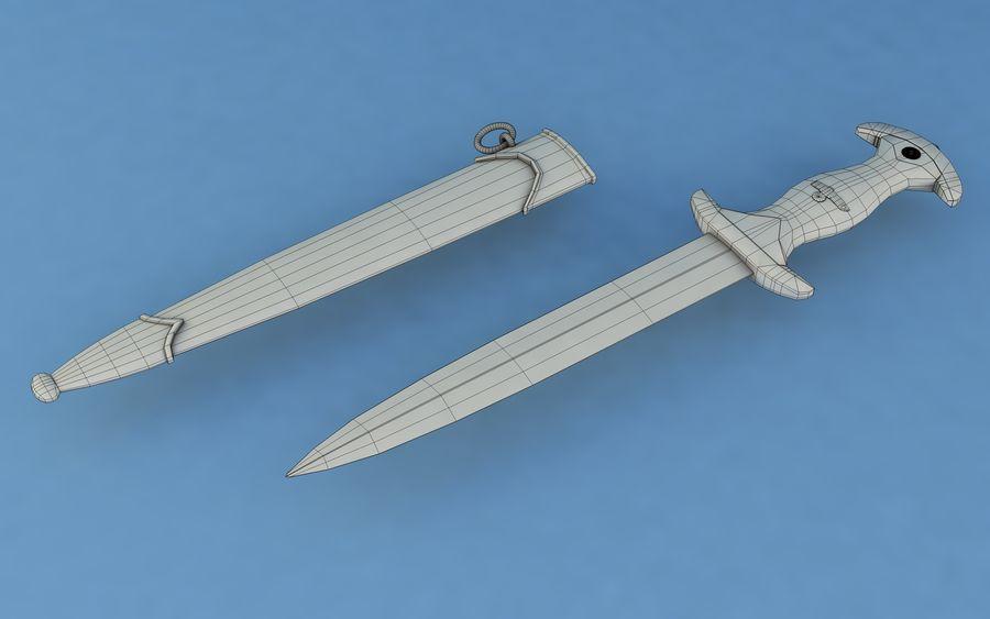 Dagger SA royalty-free 3d model - Preview no. 7