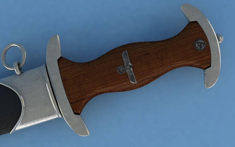 Dagger SA royalty-free 3d model - Preview no. 4