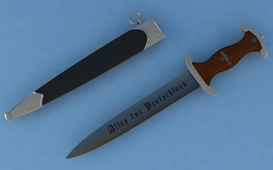 Dagger SA royalty-free 3d model - Preview no. 2