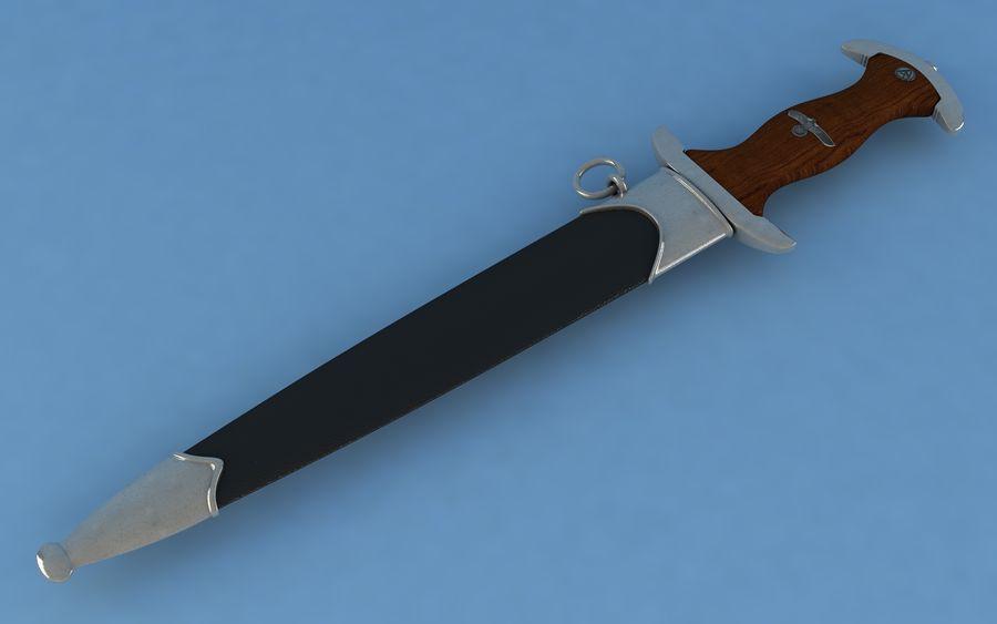Dagger SA royalty-free 3d model - Preview no. 1